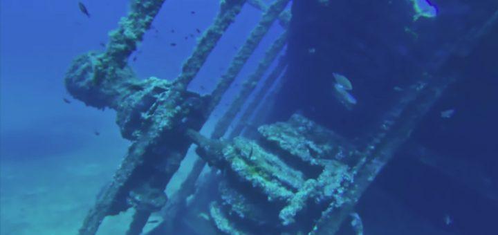 Exploration d'épaves en drone sous-marin par Amixem