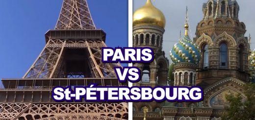 Paris VS St-Pétersbourg par Daniil Le Russe