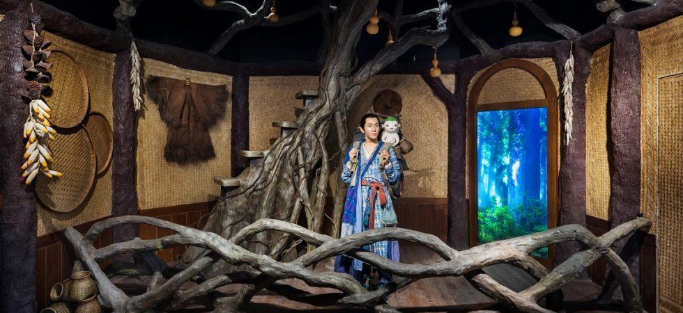 Jing boran et Wuba : la statue de cire robotisée de Madama Tussauds Shangai