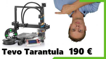 Tevo Tarantula : imprimante 3D à 200€