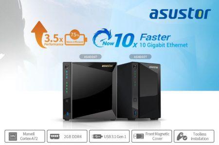 AS40 : La nouvelle gamme de NAS Asustor