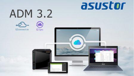 Asustor a sorti une nouvelle version de son système ADM :  ADM 3.2
