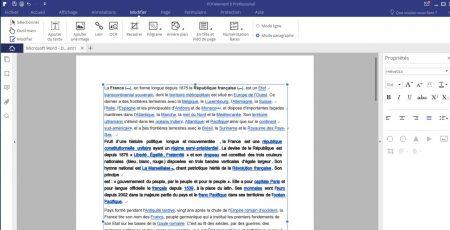 PDFelement : modification d'un fichier PDF