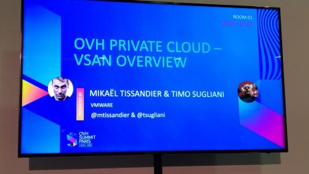 OVH Summit 2018 : VSAN Overview