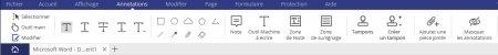 """PDFelement : le menu """"Annotations"""""""