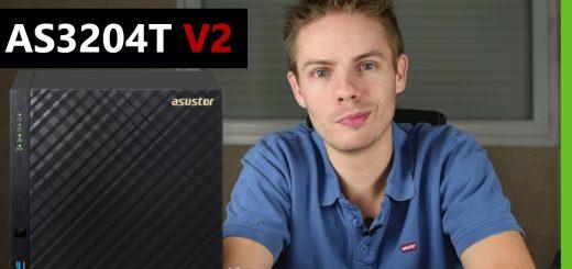 AS3204T v2 : NAS 4 baies d'Asustor