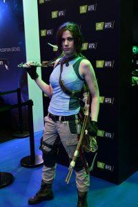 PGW18 : Cosplay Lara Croft