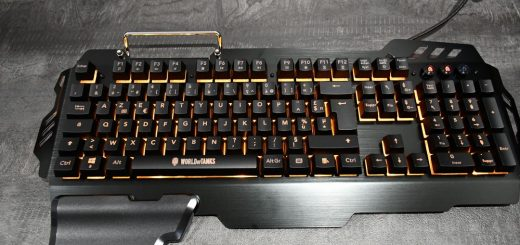 Konix K-50 : le clavier semi-mécanique à l'effigie de World Of Tanks