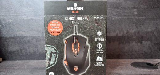 Konix M-45 : la souris Gaming personnalisable de chez Konix