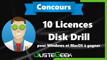 Concours : 10 licences Disk Drill Pro à gagner