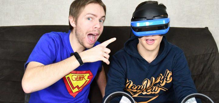 Test du casque de Réalité Virtuelle Acer avec Ant-One