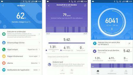 Mi Fit : L'application du Mi Band de Xiaomi