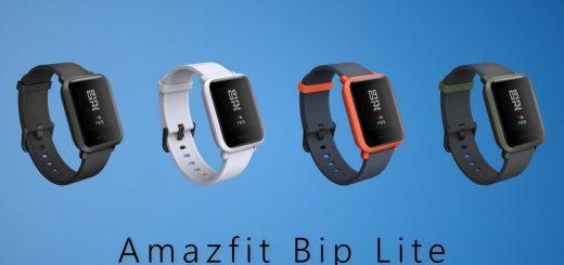 La Amazfit Bip Lite existe en 4 couleurs : Noir, Gris, Vert et Orange