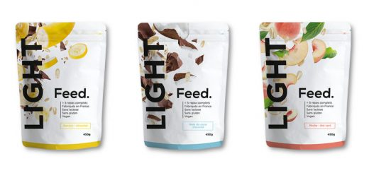 3 Produits de la gamme Feed Light