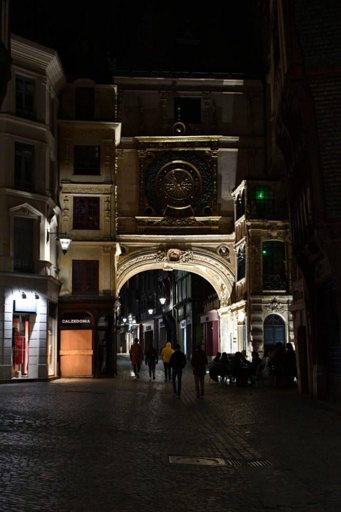 Photo originale : Le Gros Horloge de Rouen