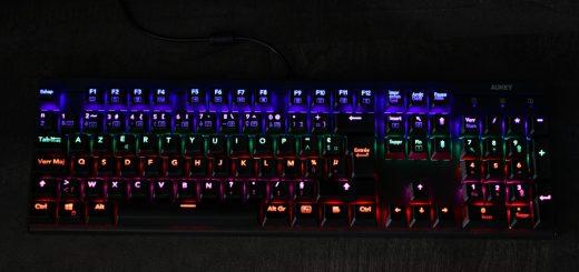Clavier mécanique RGB Aukey KM-G6
