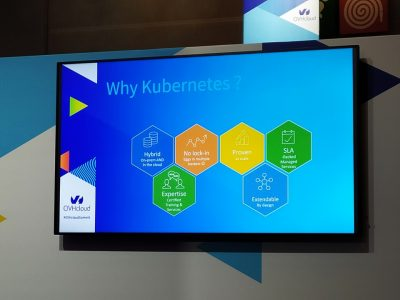 Conférence Kubernetes durant l'OVHcloud Summit 2019