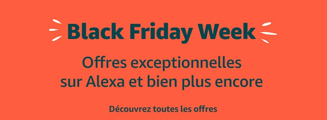 Black Friday 2019 chez Amazon