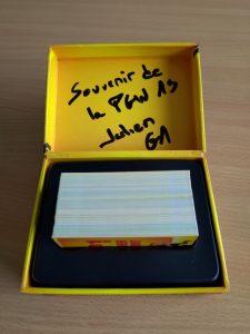 Mon exemplaire de Top 1 dédicacé par Julien TELLOUCK