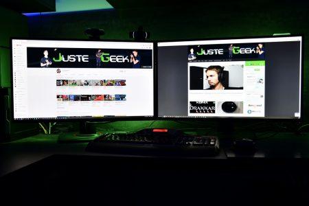 Mes 2 nouveaux écrans Asus TUF Gaming