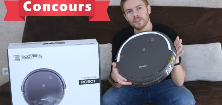 Concours : Deebot 502