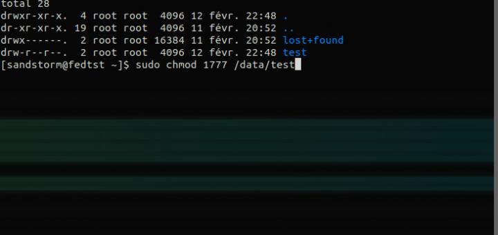 Attribution des Permissions des fichiers sous Linux