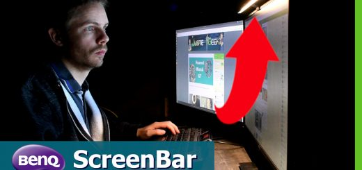 La BenQ ScreenBar en pratique