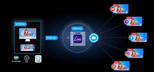 Asustor Live 1.0.7 supporte maintenant Facebook et Instagram