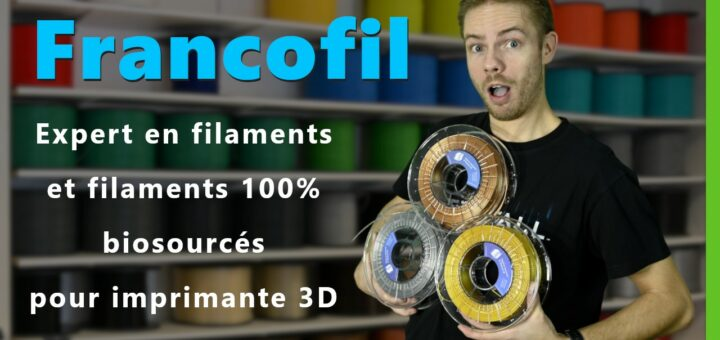 Reportage sur les filaments Francofil