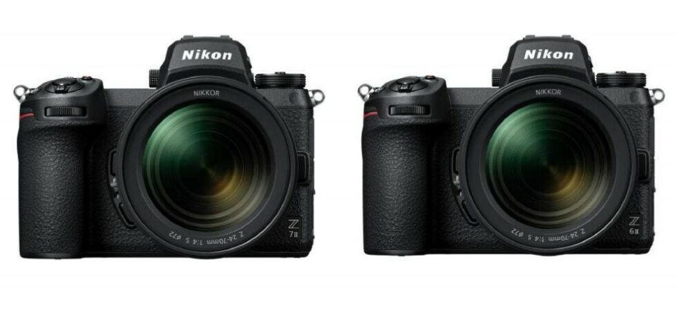 Nouveaux hybrides Nikon Z 6II et Z 7II