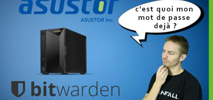 Tutoriel : Bitwarden sur NAS Asustor