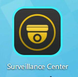 L'icône Surveillance Center sur le bureau Asustor