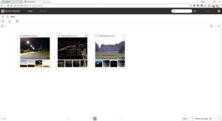 Photo Gallery : l'application Asustor pour gérer ses photos