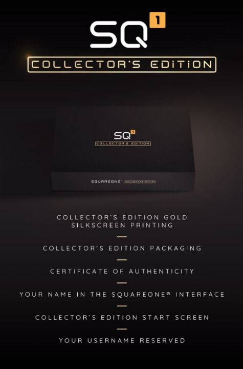 La SquareOne Edition Collector
