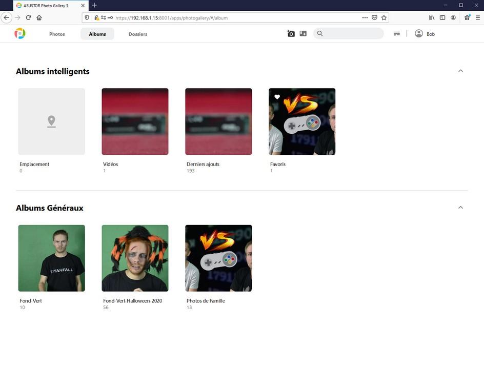 La nouvelle application PhotoGallery 3 d'Asustor
