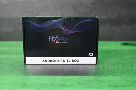 H96-Max X3 : la boite