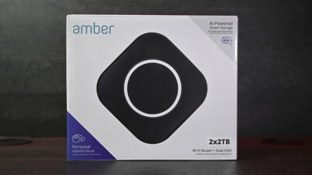 Amber Plus (2 x 2 To)