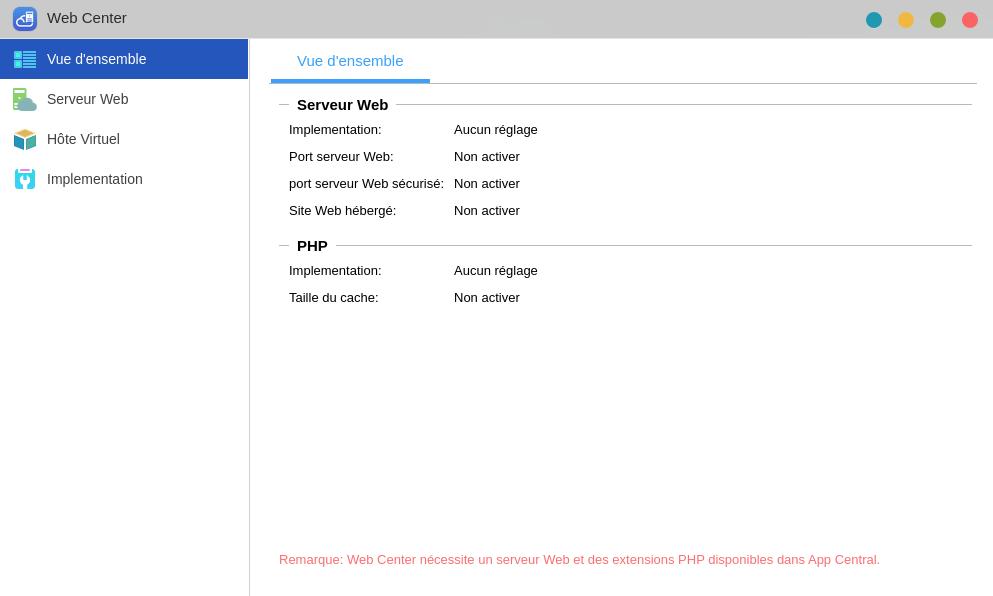 ADM 4.0 Beta : L'application Web Center