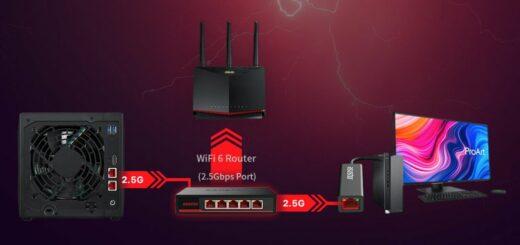 ASW205T : le switch Asustor pour booster son réseau