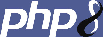 Le logo PHP 8