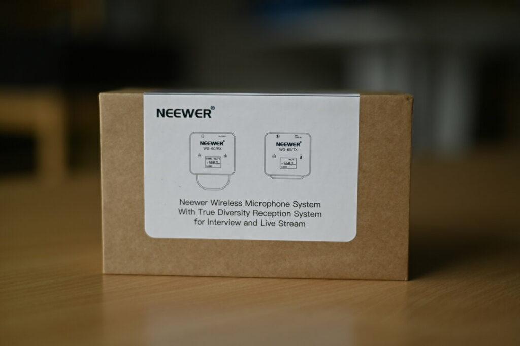 Boite du micro sans fil NEEWER